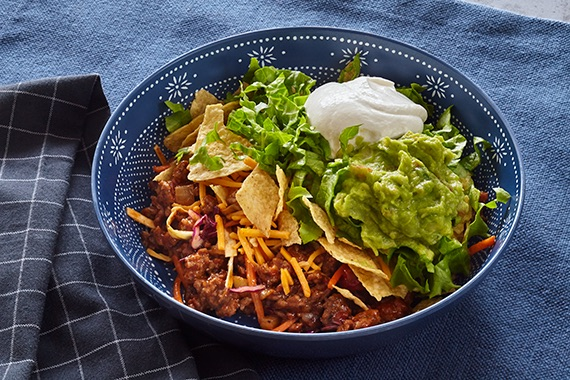 Beef Taco Bowls Recipe Mission Foods