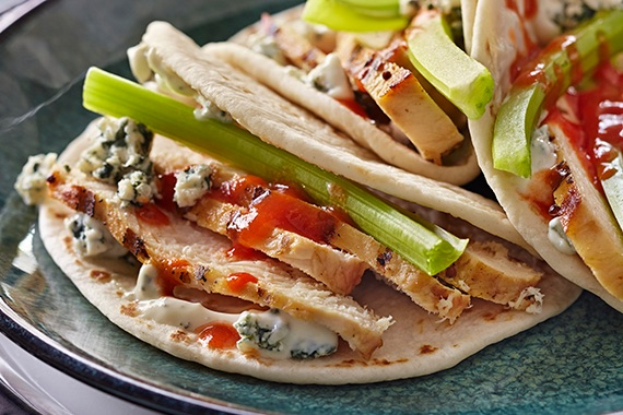 Buffalo Chicken Tacos Recipe Image