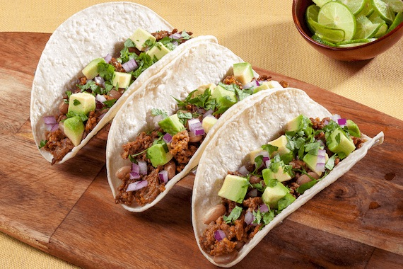Chorizo, Pinto and Avocado Tacos Recipe Image