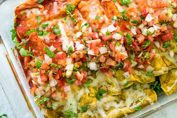 Fast Easy Chicken Enchiladas Recipe Mission Foods