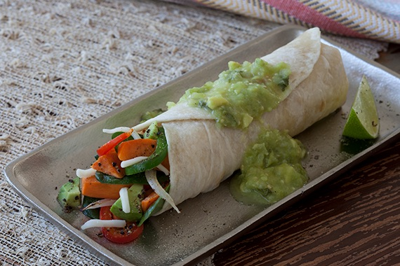 Garden Fresh Burritos Recipe Image