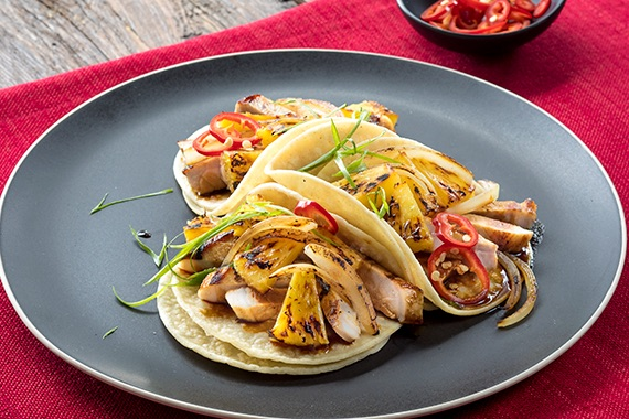 Hawaiian Pork Tacos Recipe Image