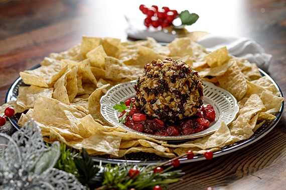 Cranberry Goat Cheese Ball Recipe Image