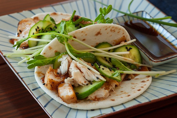 Japanese Chicken Ponzu Tacos Recipe Image