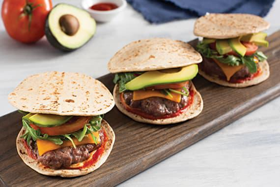 Keto Cheeseburger Sliders Recipe Image