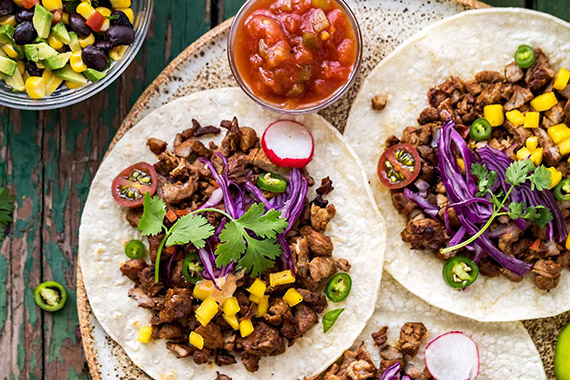 Korean Pork Bulgogi Taco Recipe Image