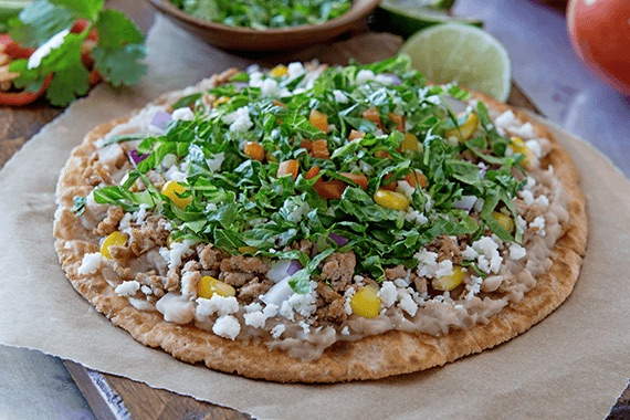 Mexican Tostadas Recipe Image