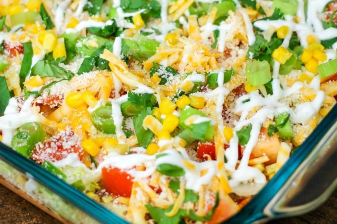 Million Layer Dip Recipe Image