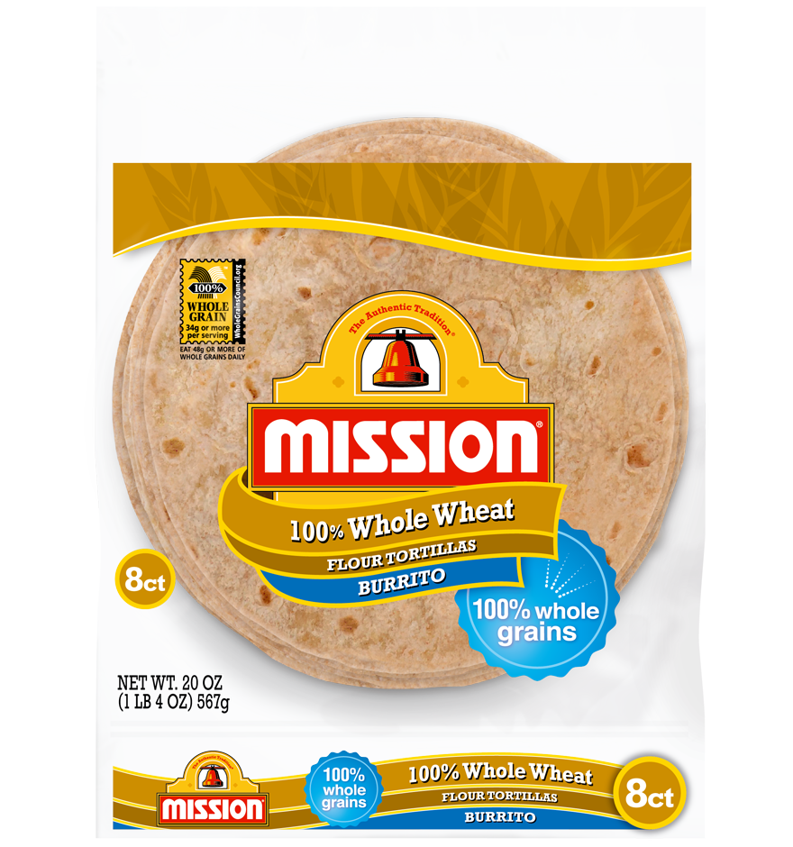 Burrito Whole Wheat Tortillas