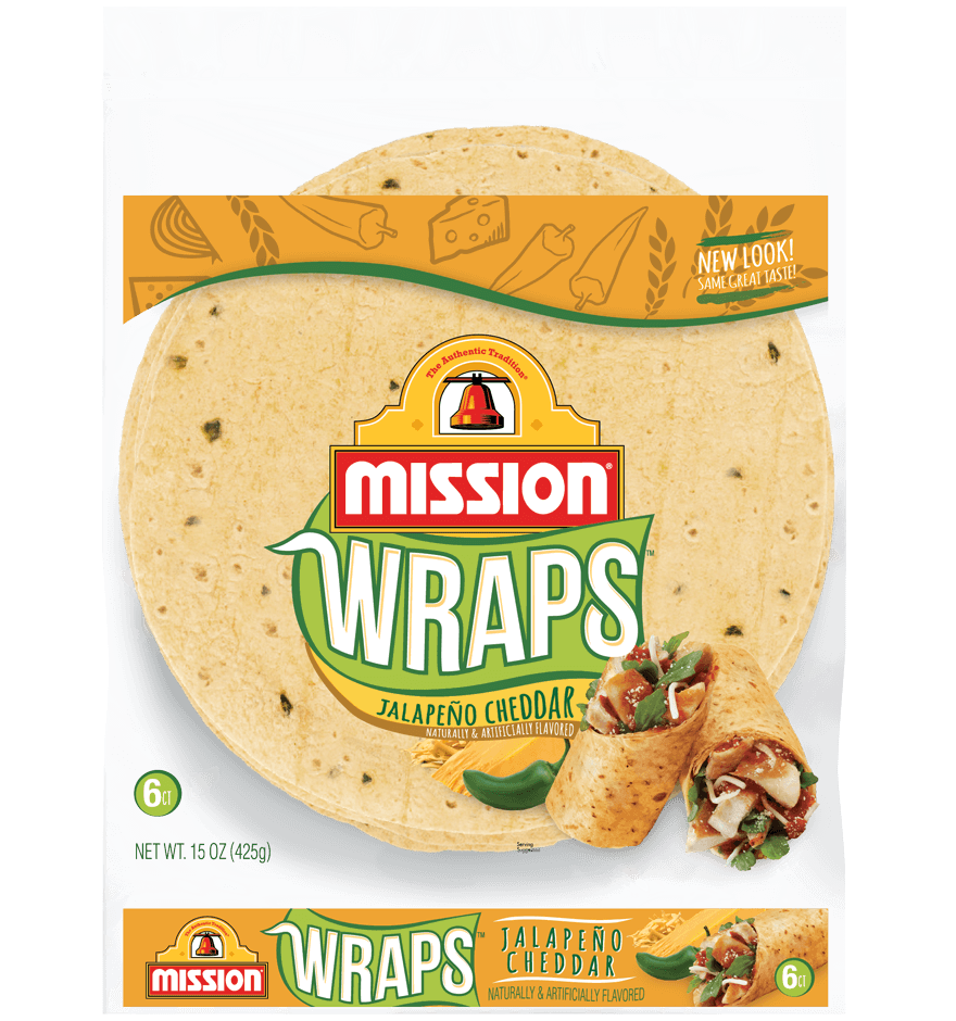 Thumbnail for Jalapeño Cheddar Wraps