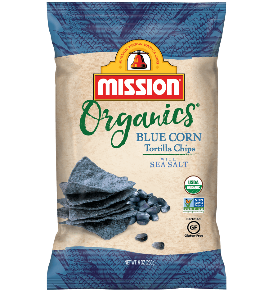 Thumbnail for Organic Blue Corn Tortilla Chips