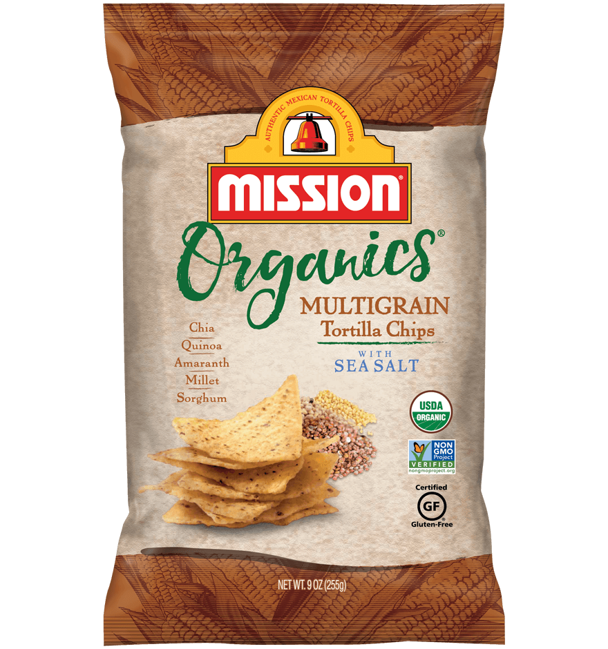 Thumbnail for Organic Multigrain Tortilla Chips