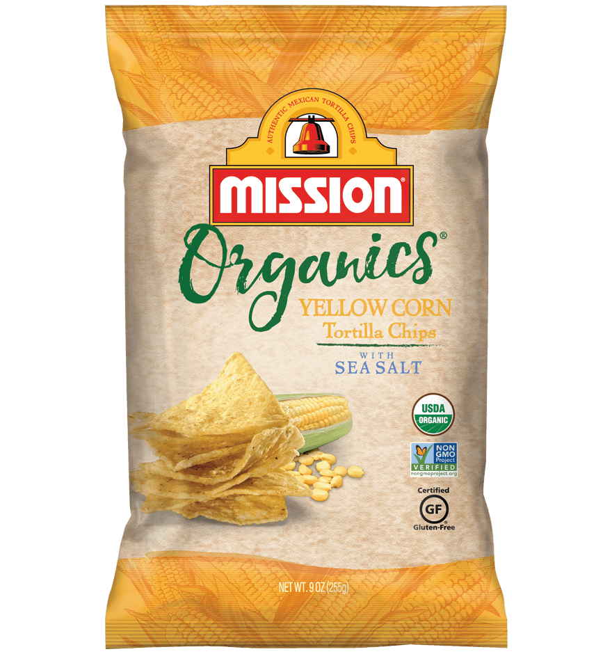 Organic Yellow Corn Tortilla Chips