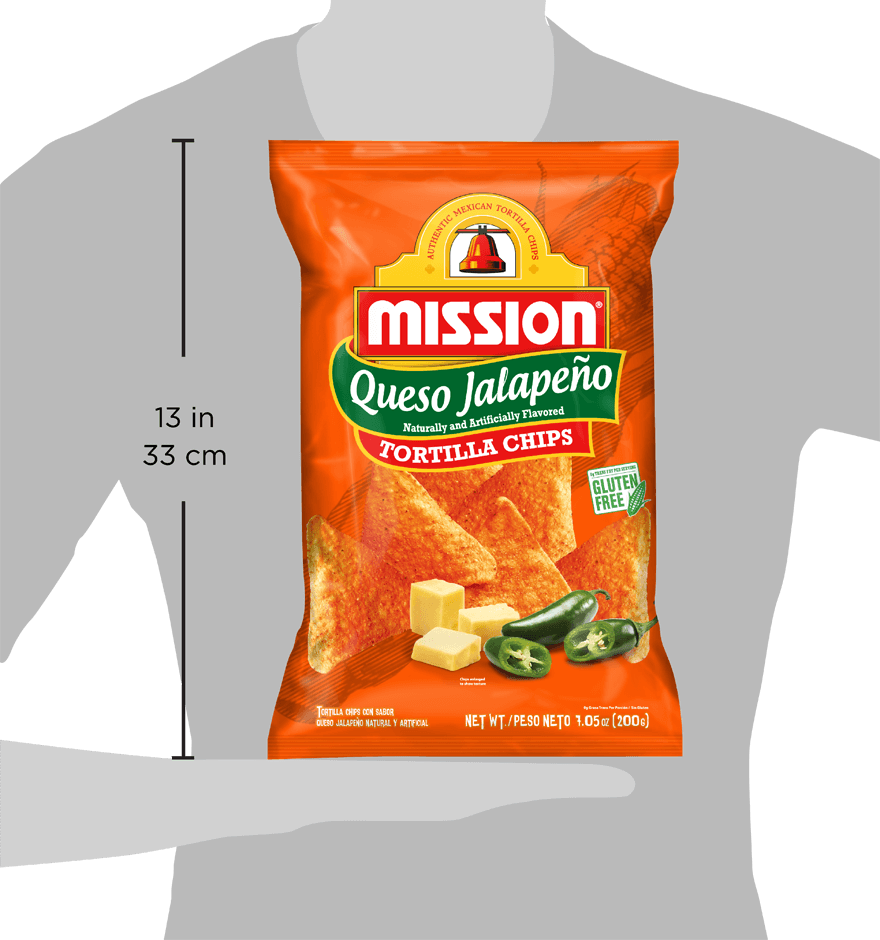 Thumbnail for Queso Jalapeño Tortilla Chips