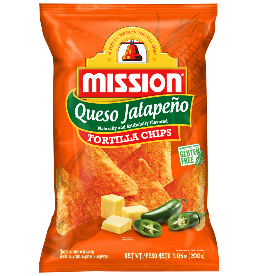 Queso Jalapeño Tortilla Chips
