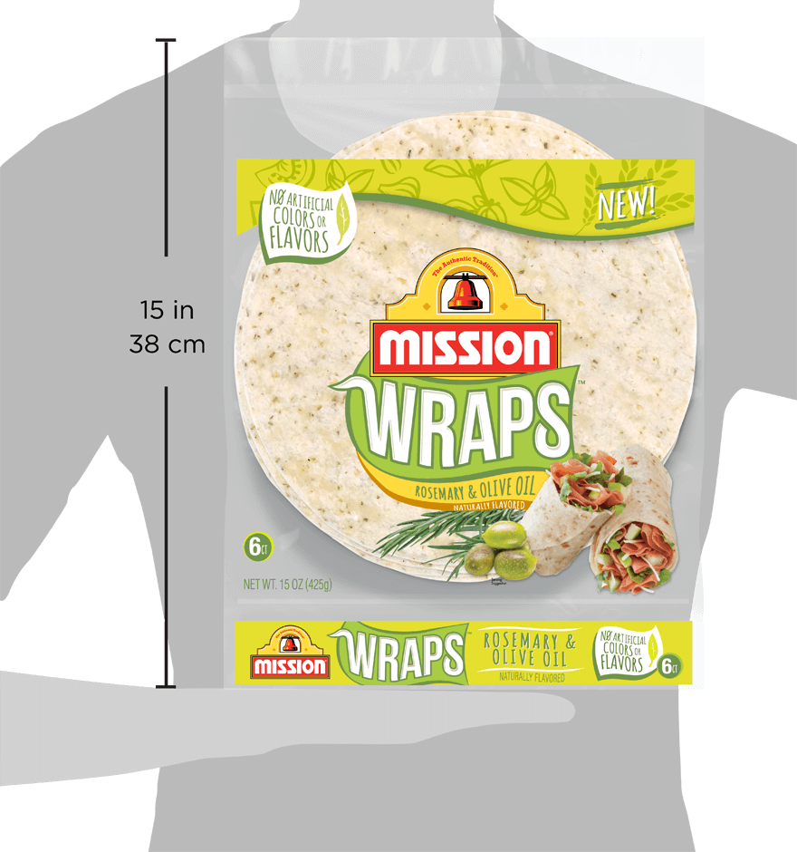 Thumbnail for Rosemary & Olive Oil Wraps