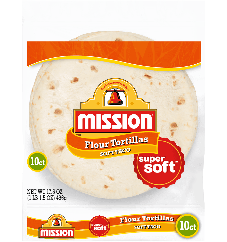 Soft Taco Flour Tortillas