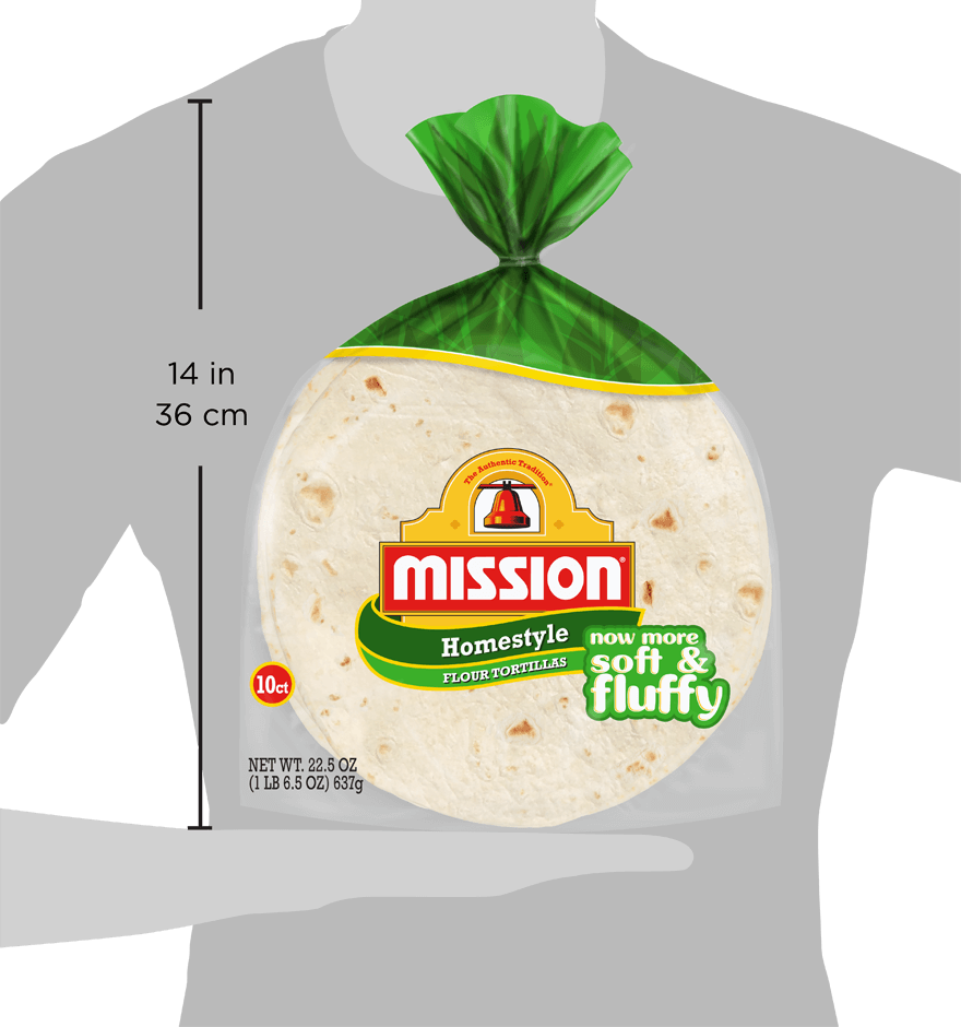 Thumbnail for Soft Taco Homestyle Flour Tortillas