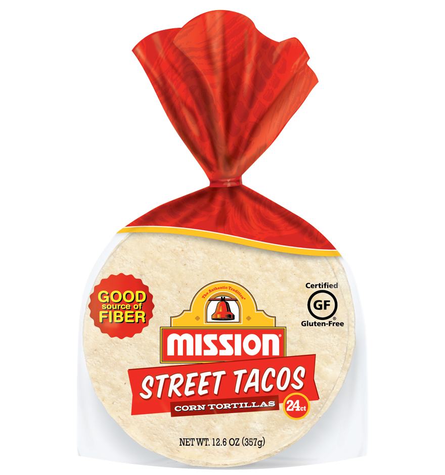 Street Tacos White Corn Tortillas