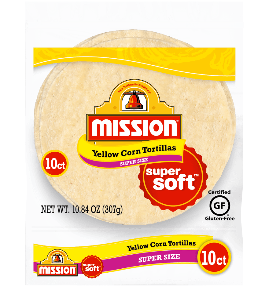 Super Size Yellow Corn Tortillas