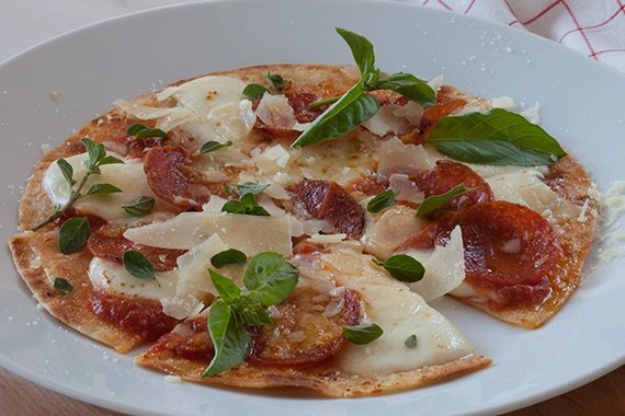 Pizza Tortillas Recipe Image