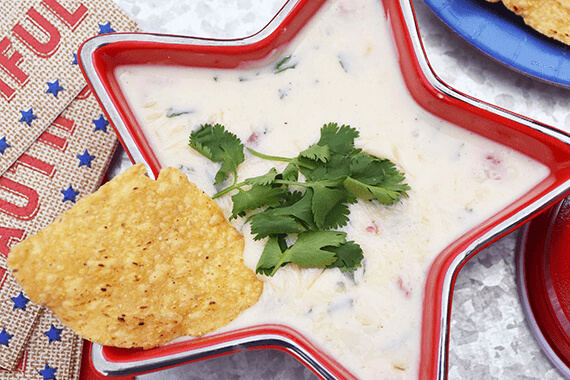 Easy Stovetop Queso Blanco Recipe Image