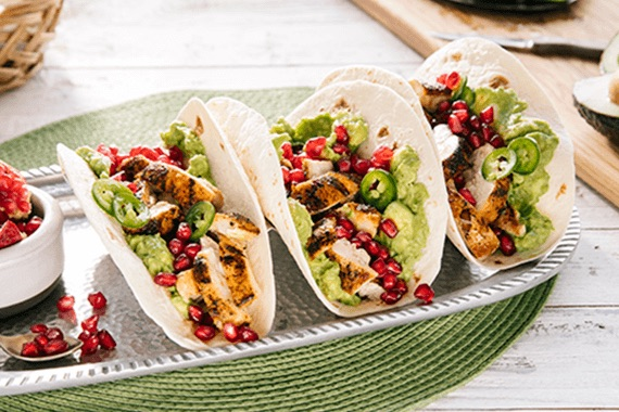 Roasted Chicken Tacos Recipe Image