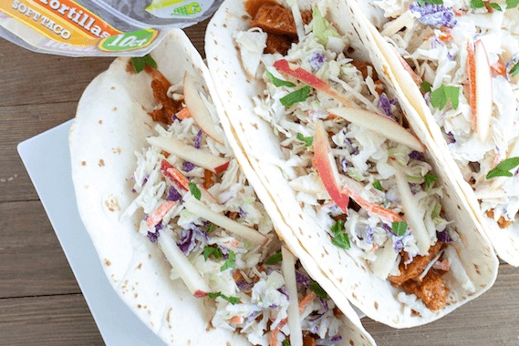 Slow Cooker BBQ Tacos Recipe Image