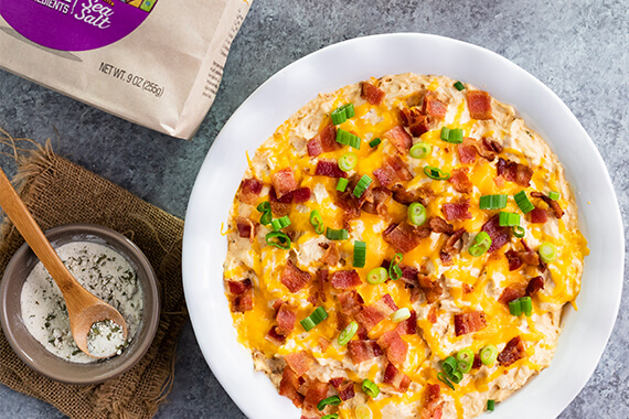 Slow Cooker Chicken Ranch Bacon Dip Recipe Image
