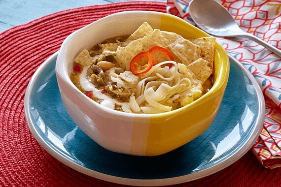 Spicy White Chili Recipe Image