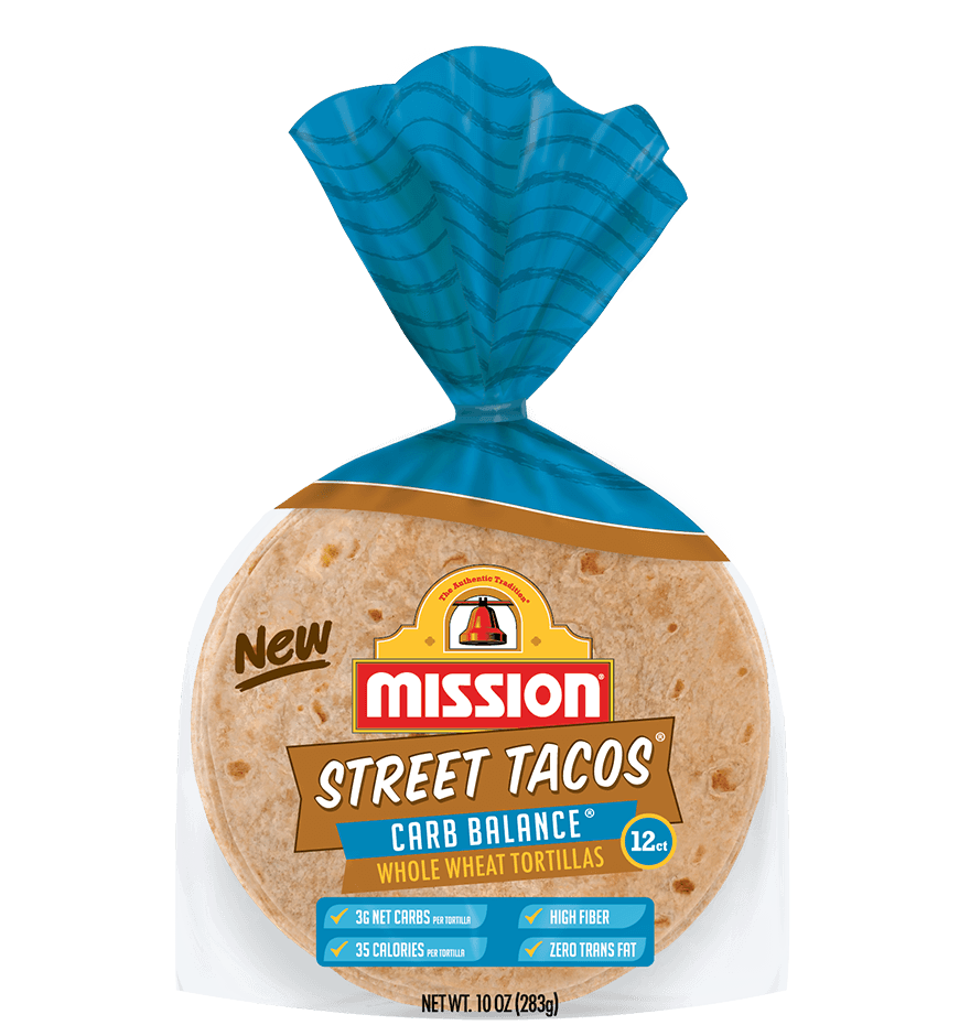 Street Tacos Carb Balance Whole Wheat Tortillas