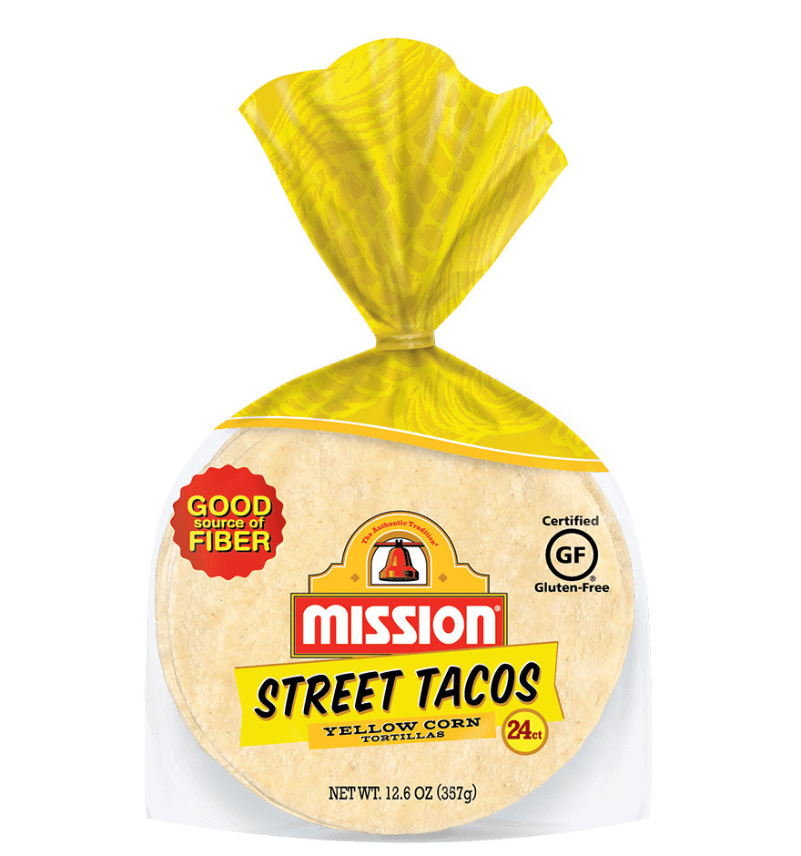 Street Tacos Yellow Corn Tortillas