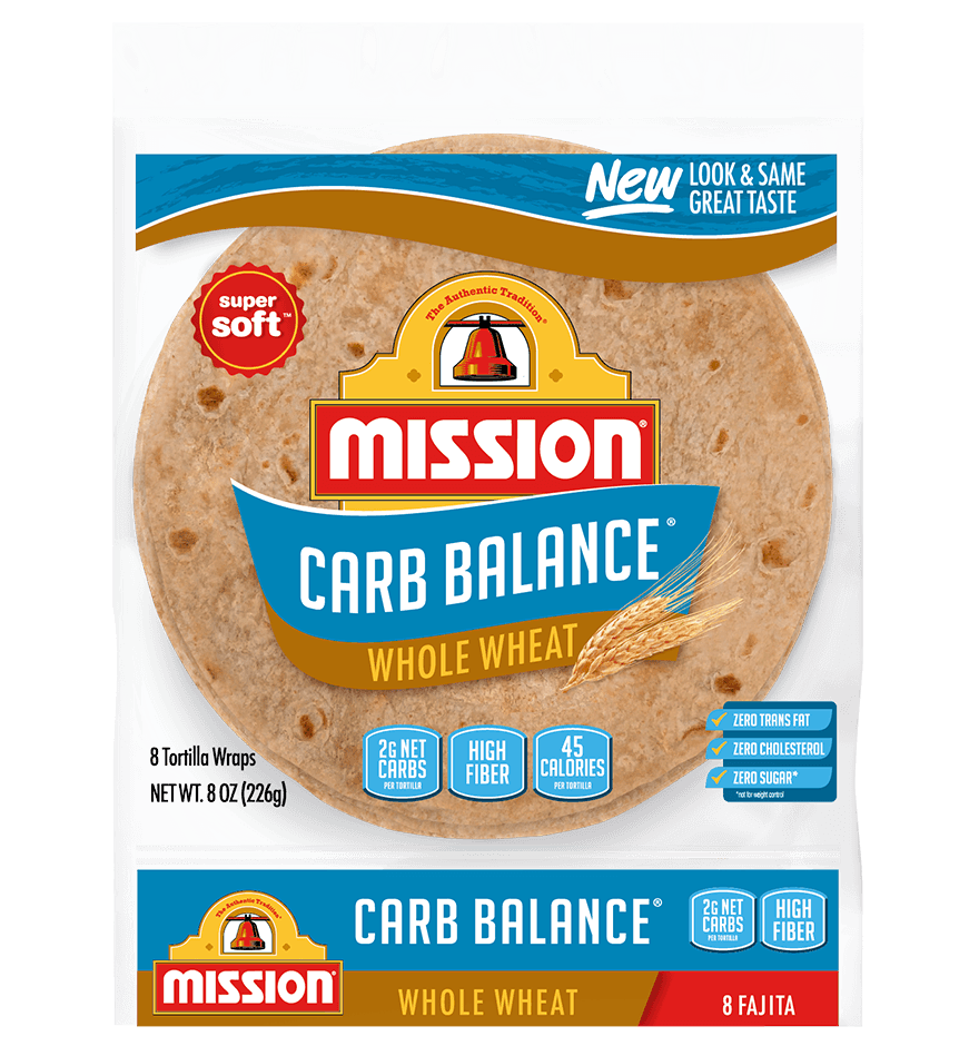 Thumbnail for Carb Balance Fajita Whole Wheat Tortillas