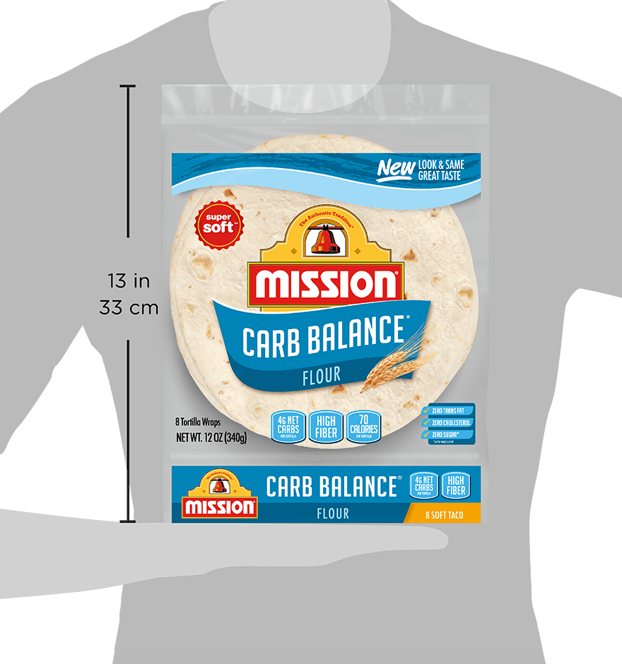 Thumbnail for Carb Balance Soft Taco Flour Tortillas