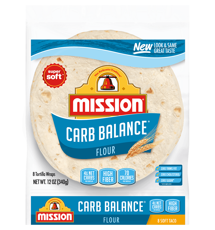 Carb Balance Soft Taco Flour Tortillas Mission Foods