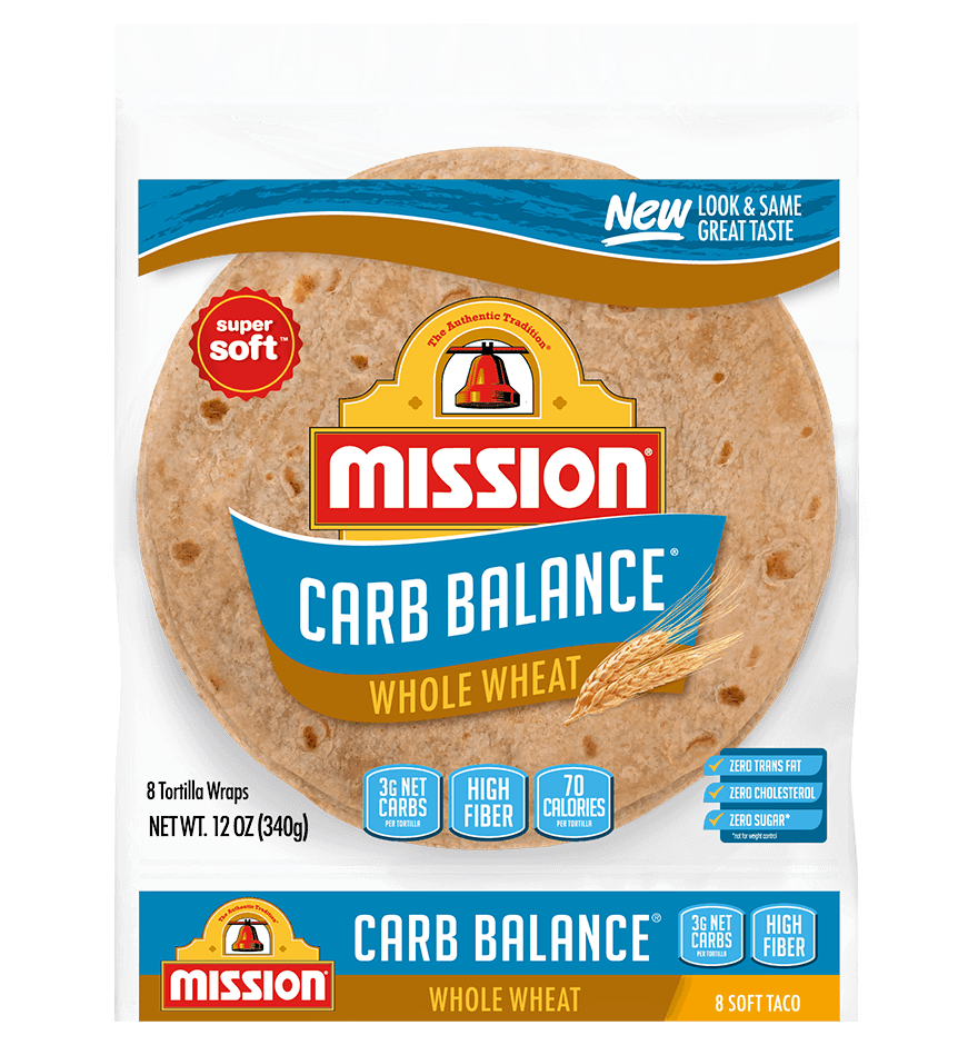 Carb Balance Soft Taco Whole Wheat Tortillas