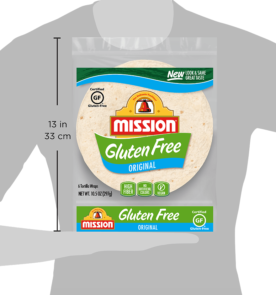 Thumbnail for Gluten Free Original Tortilla Wraps