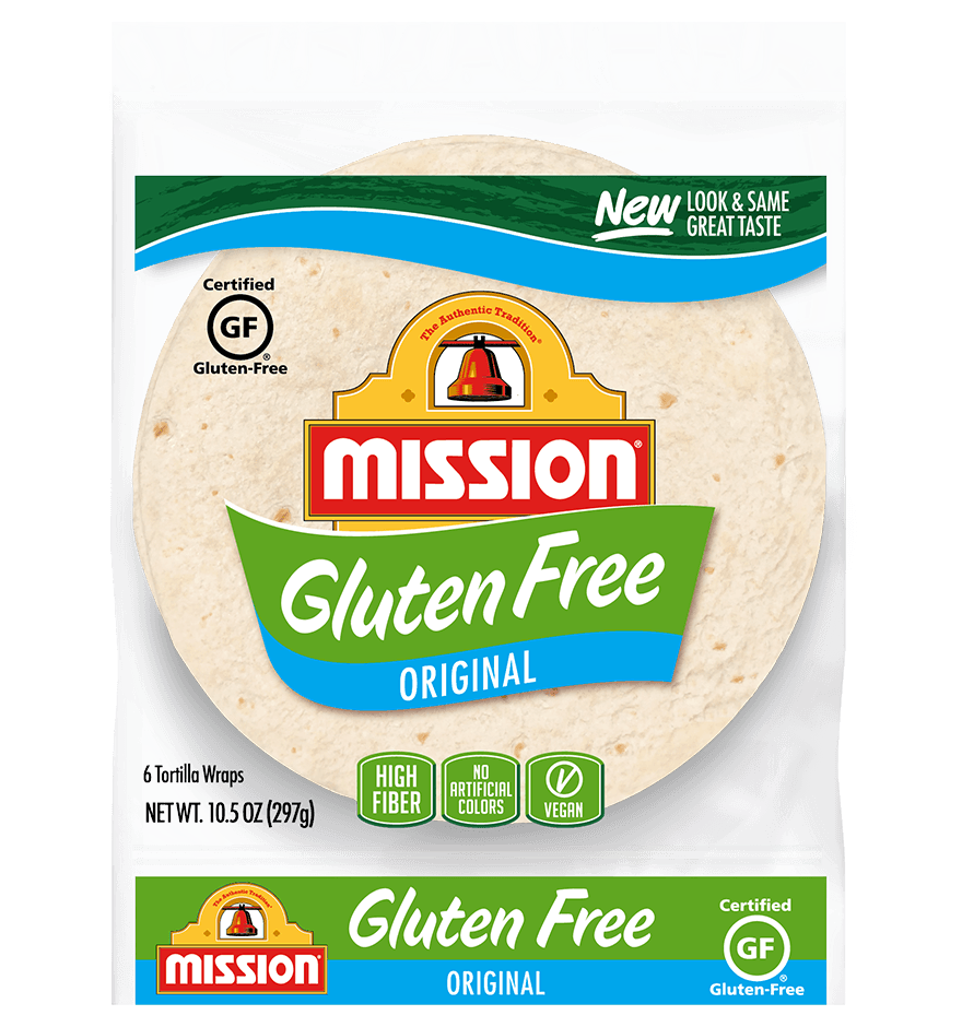Gluten Free Original Tortilla Wraps Mission Foods