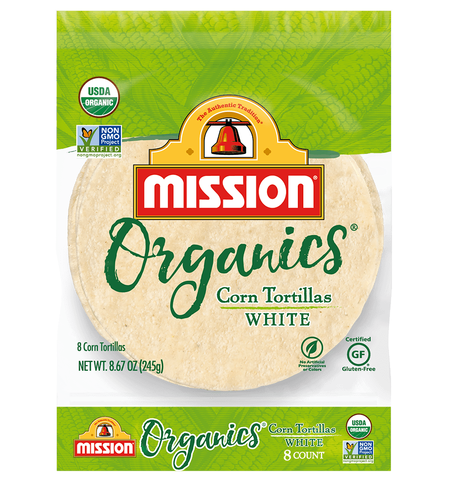 Organic White Corn Tortillas