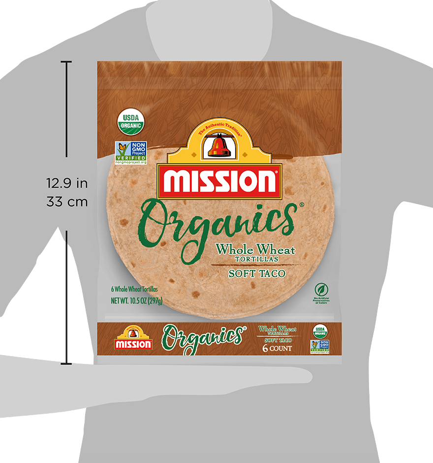 Thumbnail for Organic Whole Wheat Tortillas