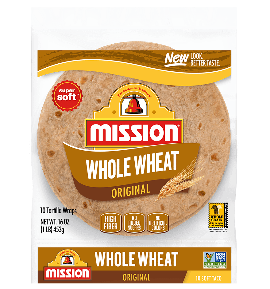 Soft Taco Whole Wheat Tortillas