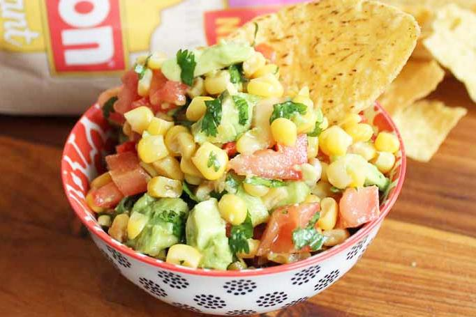 Sweet Corn Salsa Recipe Image